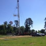 6/09/15: Looney #1 rig on today