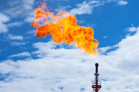Methane Gas Flaring